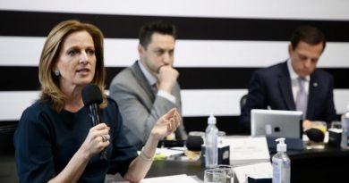 Secretária de Desenvolvimento Social, Célia Parnes