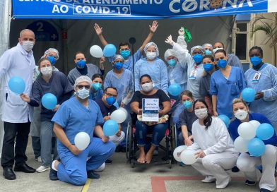Mais de 200 pacientes são curados na ala covid do HM