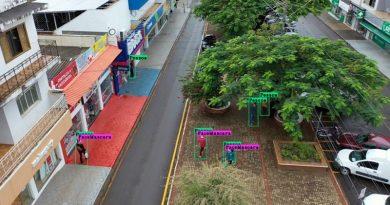 Startup usa inteligência artificial em drones para identificar riscos de contaminação pela Covid-19