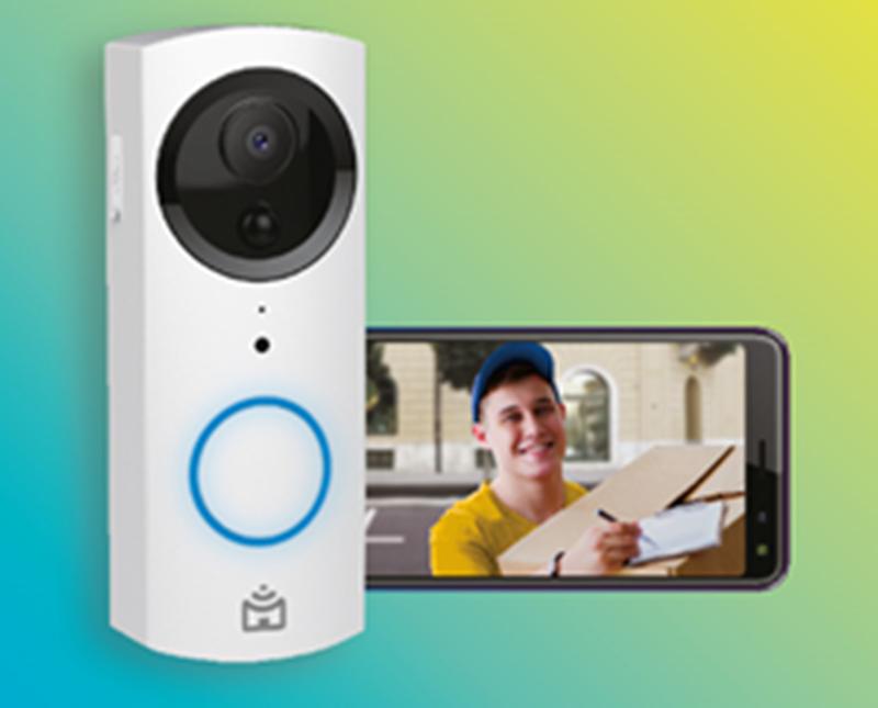 Smart Vídeo Porteiro Wi-Fi