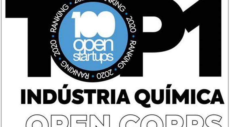 TOP 100 Open Corps – e TOP 1 em Indústria Química