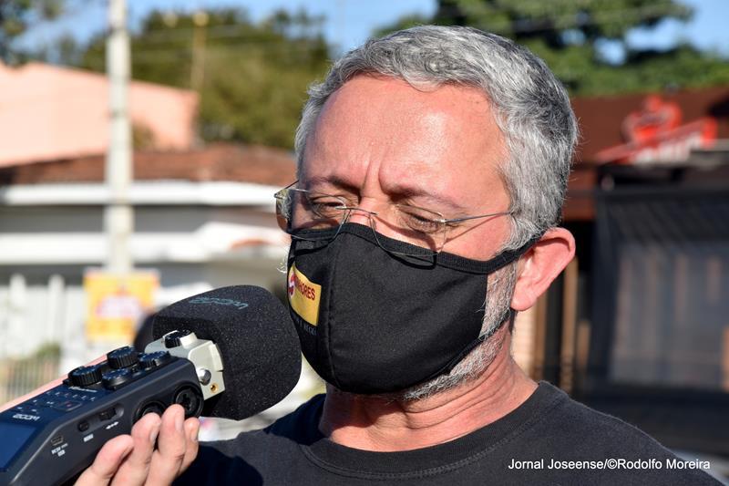 Presidente do SINHORES Antonio Ferreira Junior Foto Rodolfo Moreira