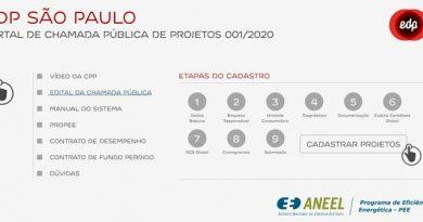 EDP disponibiliza R$ 4 milhões em Chamada Pública para Projetos de Eficiência Energética