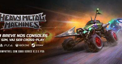 Hoplon anuncia que Heavy Metal Machines (HMM) chegará para consoles no começo de 2021
