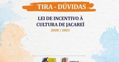 Fundação Cultural de Jacarehy realiza tira-dúvidas da LIC