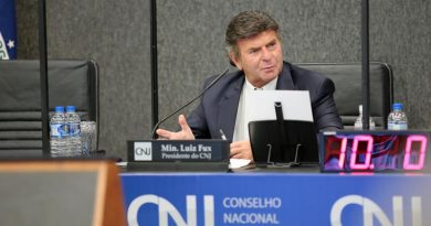 Presidente do CNJ, Ministro Luiz Fux