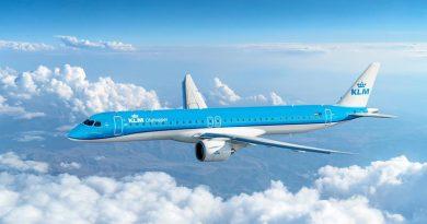 Embraer E195 E2 KLM