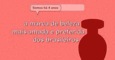 O Boticário é eleito como a marca de beleza mais amada e preferida dos brasileiros