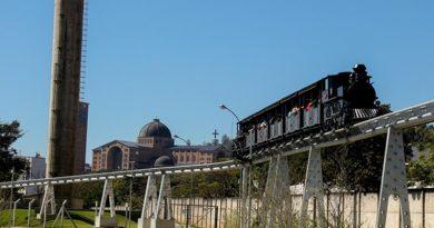 Trem do Devoto de Aparecida retoma atividades e amplia atendimento aos visitantes