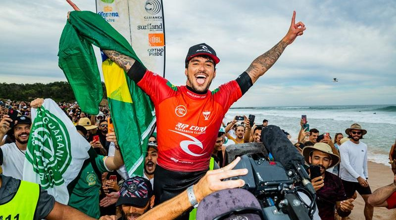 SURFE EM ALTA: PELA PRIMEIRA VEZ NA HISTÓRIA DOS ESPORTES INDIVIDUAIS, TRÊS BRASILEIROS OCUPAM O TOPO DO RANKING MUNDIAL