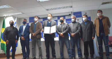 Municípios assinam em São José adesão à Agência Ambiental