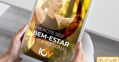 IOV lança e-book com práticas que estimulam o bem-estar emocional e psíquico