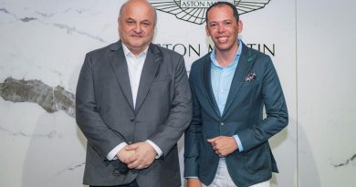 Aston Martin faz parceria inédita com estilista Fabrizio Allur