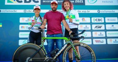 Ciclismo de Pindamonhangaba conquista ouro e bronze no 1º dia do Campeonato Brasileiro