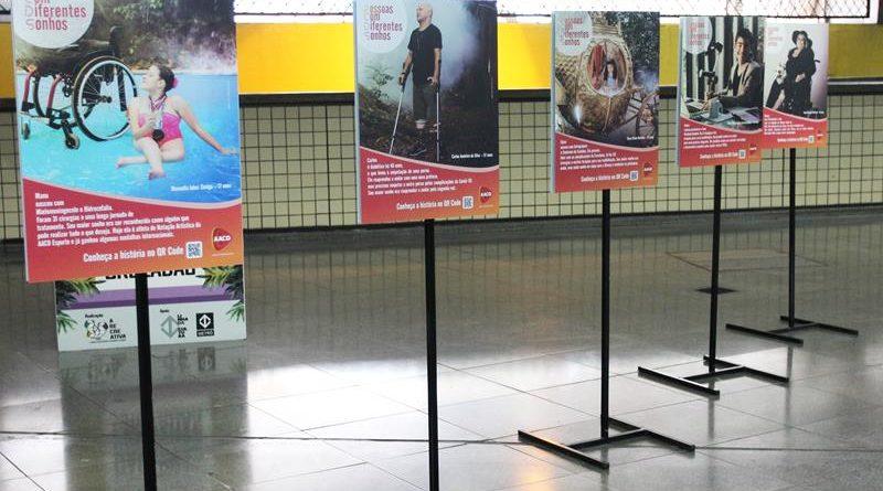 AACD lança exposição com o tema inclusão no Metrô de São Paulo