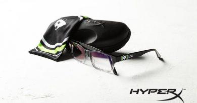 HyperX e Panda Global apresentam óculos gamer com design inspirado na equipe de eSports