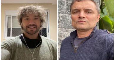 Diego Lugano e Diego Aguirre