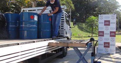 BASF desenvolve álcool spray com agentes hidratantes para doação às universidades de farmácia