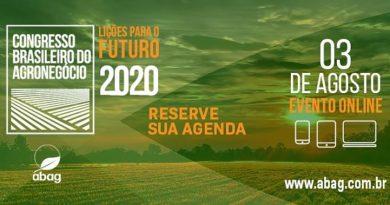 Congresso Brasileiro do Agronegócio 2020