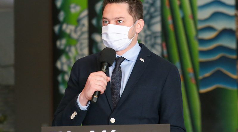 Secretário de Desenvolvimento Regional, Marco Vinholi