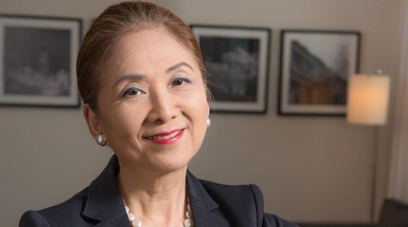 Chieko Aoki, presidente da Blue Tree Hotels