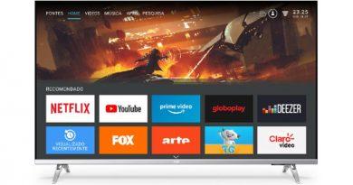 AOC lança smart TV 4K com bordas ultrafinas e tecnologia Dolby