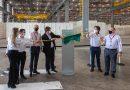 Suzano recebe visita do Ministro da Infraestrutura em seu mais novo complexo de movimentação de celulose