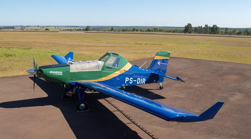aviões agrícolas Ipanema
