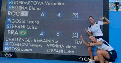 Laura Pigossi e Luisa Stefani conquistam primeira medalha olímpica do tênis brasileiro