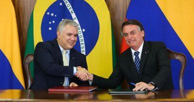 Colômbia espera US$ 1,4 bilhão de investimentos privados do Brasil